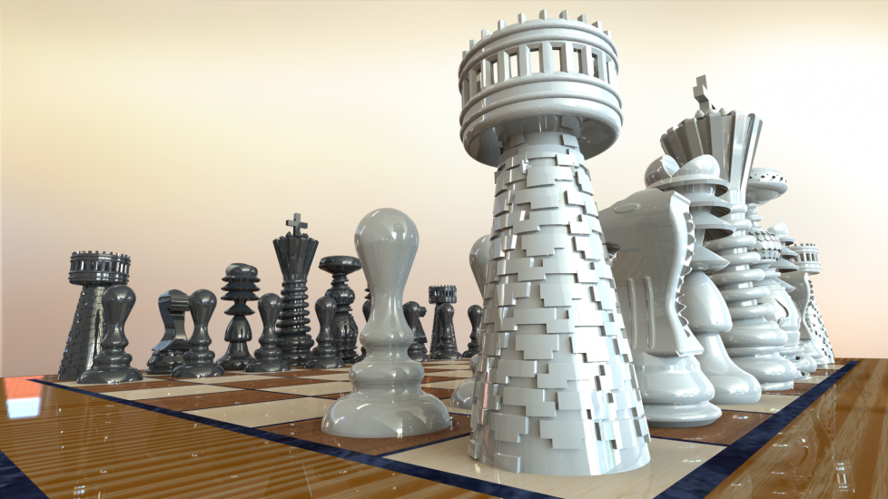 Great Interior Accessories Ideas Using Unique Chess Sets Design: Gallery Of Cool  Chess Sets Concept For Unique Chess Sets Design Ideas