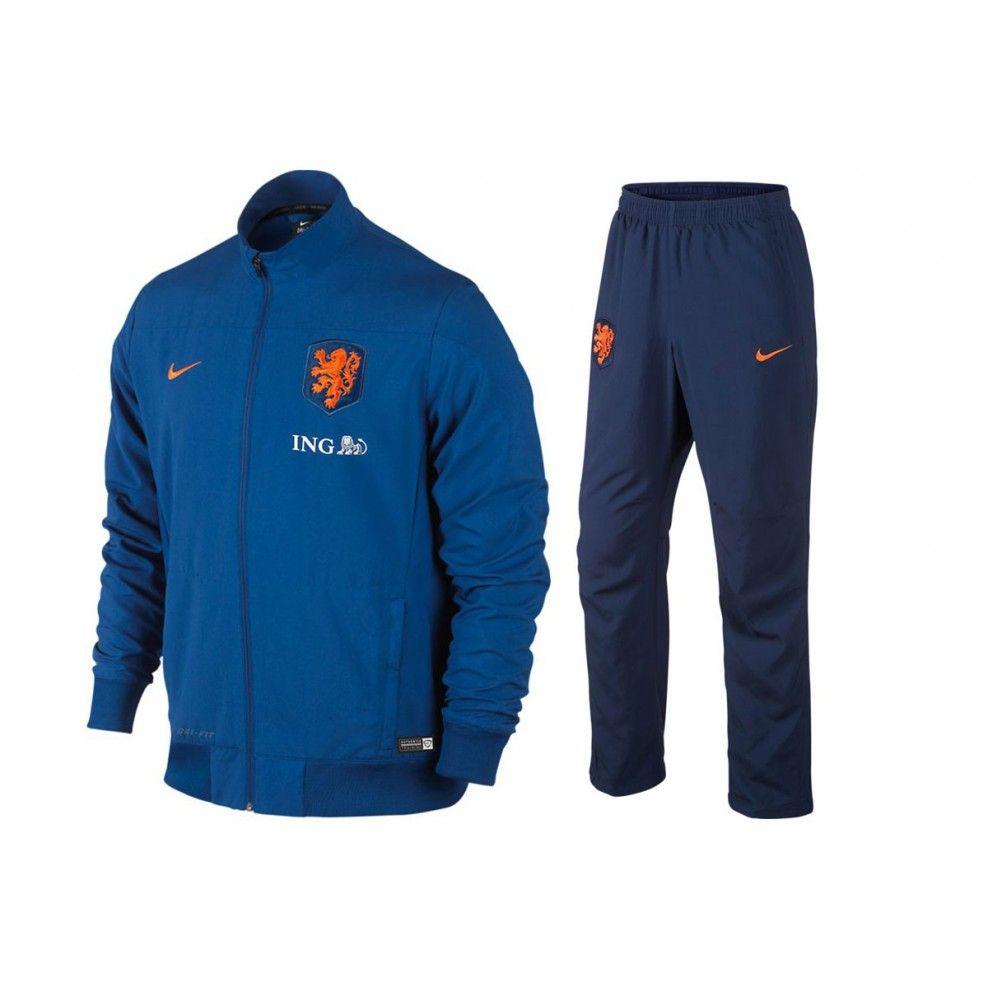 e6f67e35a2e Nike Nederland Elftal Presentatiepak | Voetbalschoenshop ...
