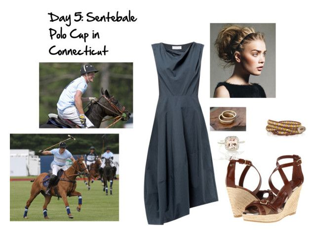 """""""Day 5"""" by p-hff ❤ liked on Polyvore featuring Nicole Farhi, Burberry, Henri Bendel, women's clothing, women, female, woman, misses and juniors"""
