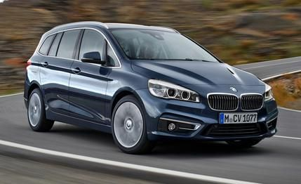 2016 Bmw 2 Series Gran Tourer The Front Wheel Drive Bmw Mini Minivan Bmw Bmw M2 Bmw 2