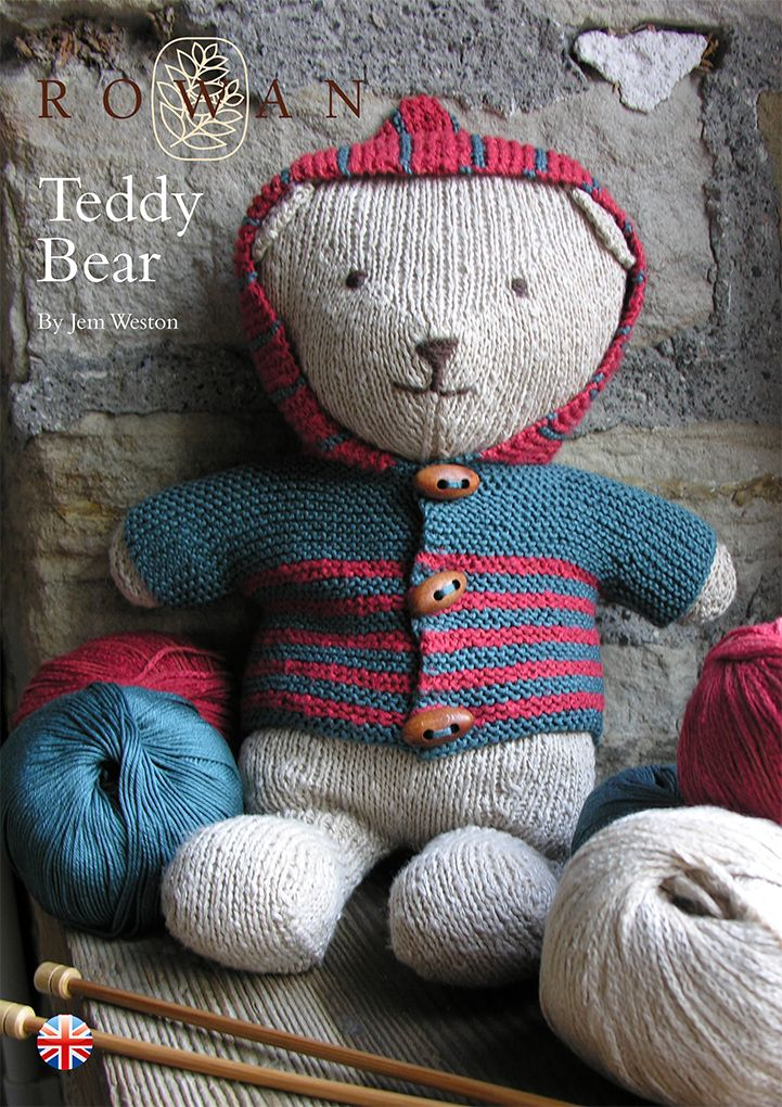 Knit This Super Cute Teddy Bear A Free Pattern Download Designed By
