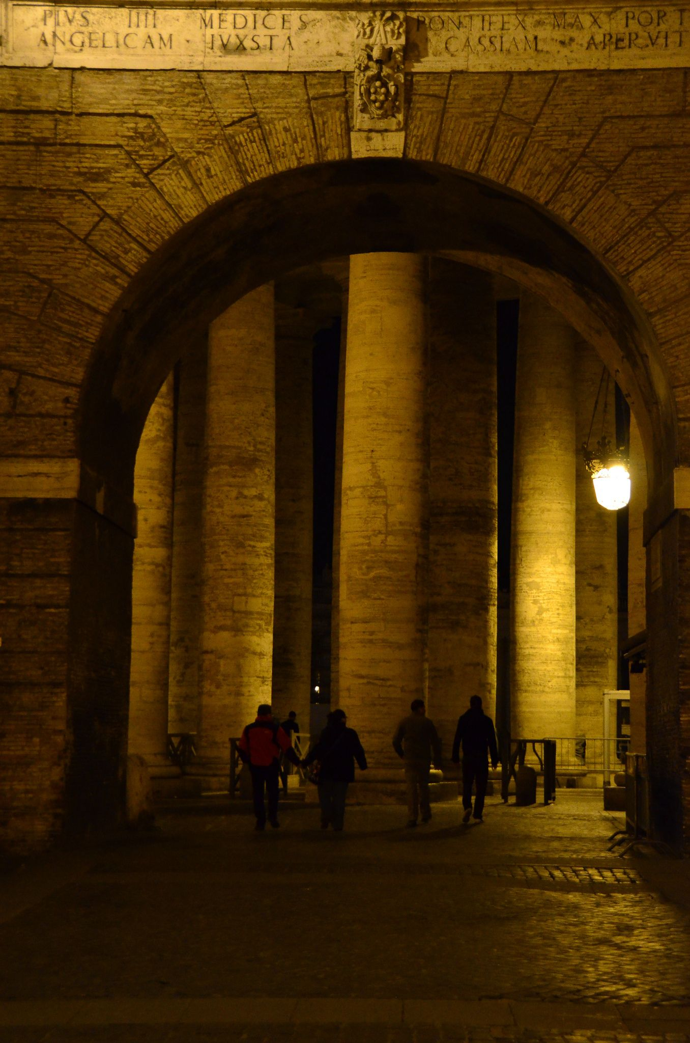 Heading Through Porta Angelica