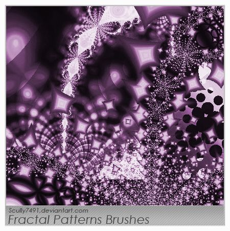 Fractal Patterns brushes by Scully7491