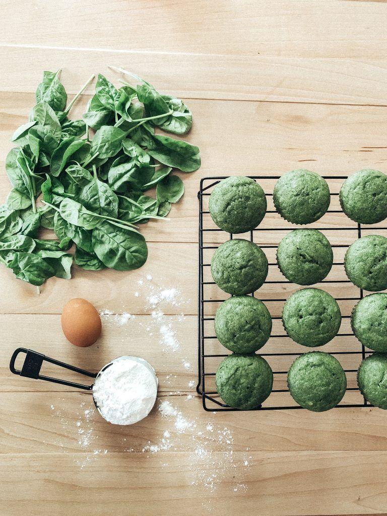 Sweet Green Muffins