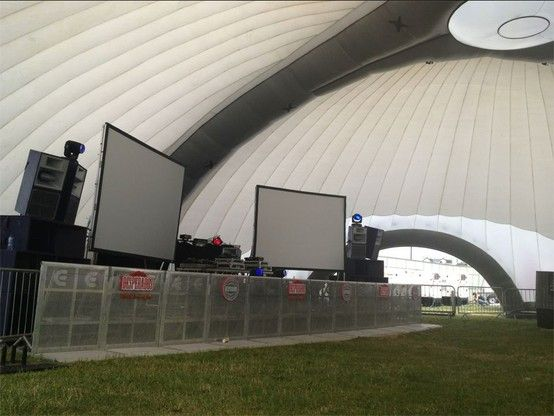 The perfect solution for a #soundstage / #dance #stage at your next  #Music #Festival  #Inflatable #Temporary #Structure #Events http://www.dryspace.ae    engage@dryspace.ae