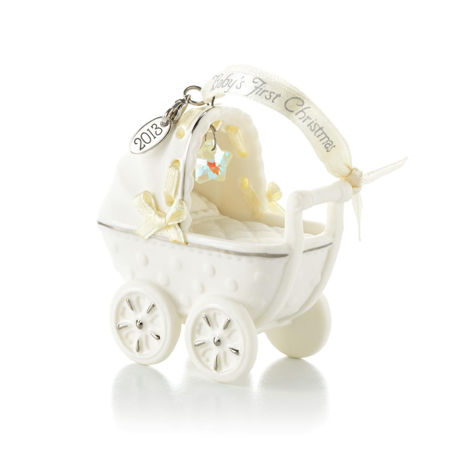 Babys First Christmas Carriage  Baby Keepsake Ornament - Hallmark