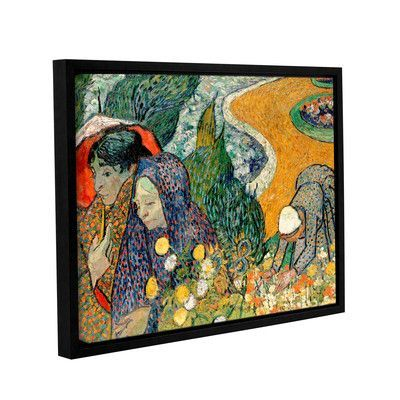 Artwall Memory Of The Garden At Etten Ladies Of Arles By Vincent