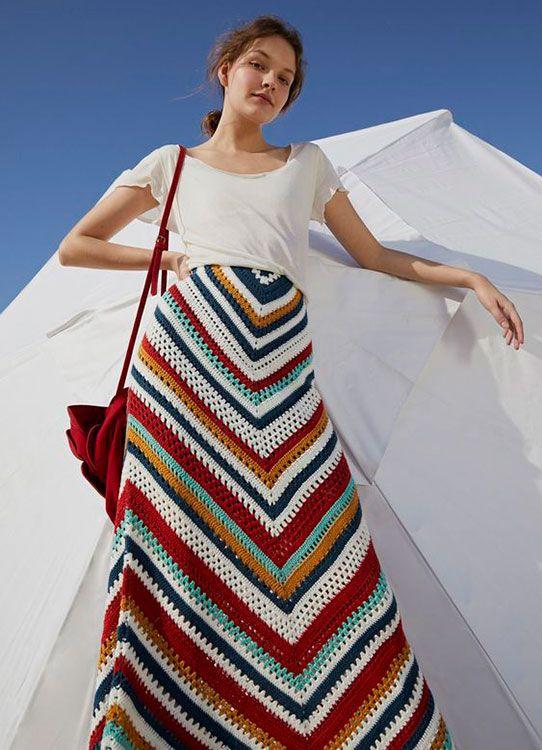 Moda » Invista na Produção de Saia de Crochê e Conquiste Seu Público. Veja 25 Modelos Lindíssimos para Se Inspirar!