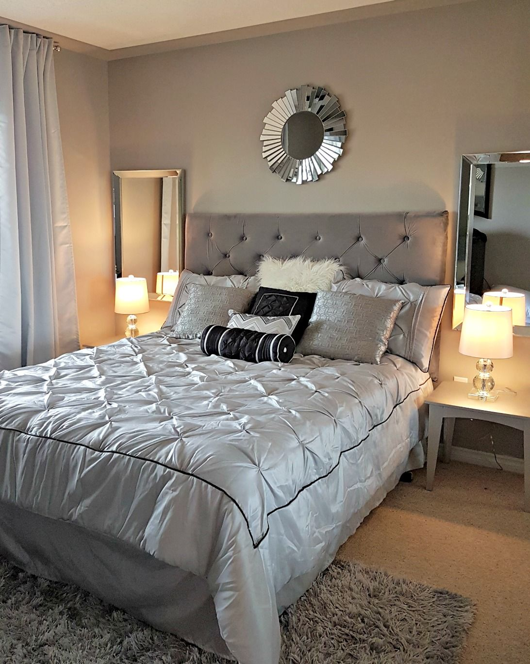master bedroom reveal for under 600 master bedroom on discover ideas about master dream bedroom id=62021