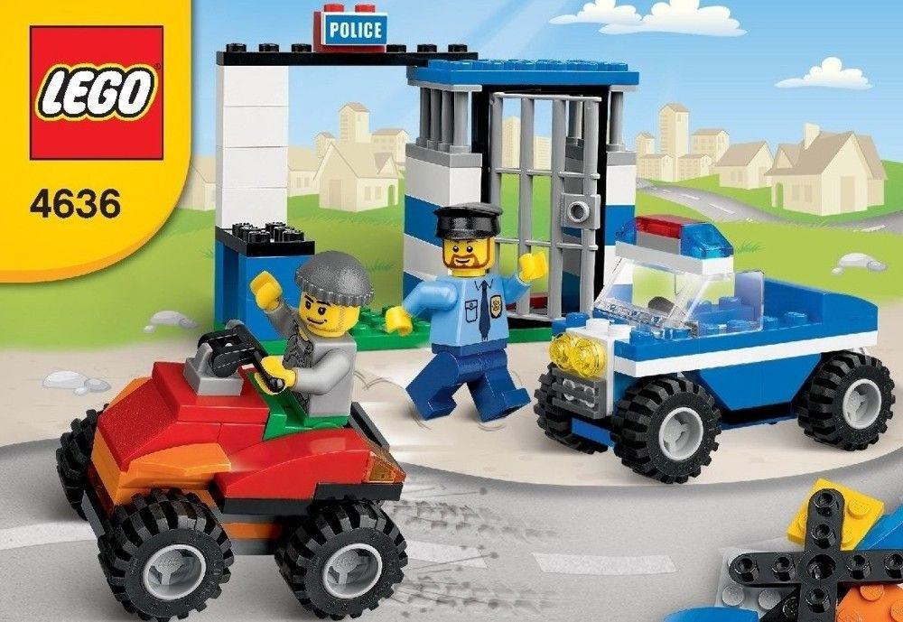 Bricks And More Police Building Set Lego 4636 Lego Mini Town