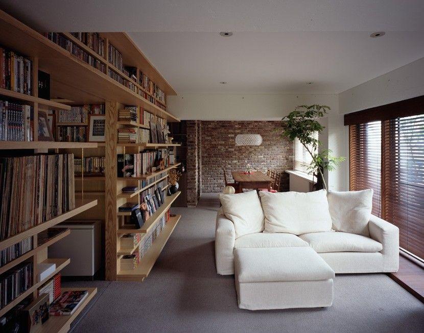 図書館のような家 Suvaco スバコ 家 自宅で ホームライブラリー