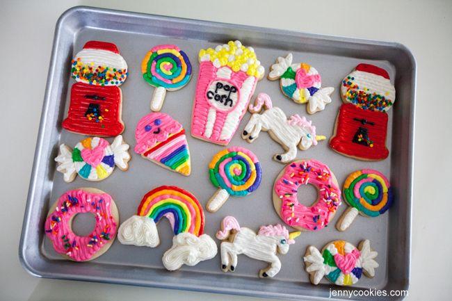 """Charm it"" themed sugar cookies  Jennycookies.com"