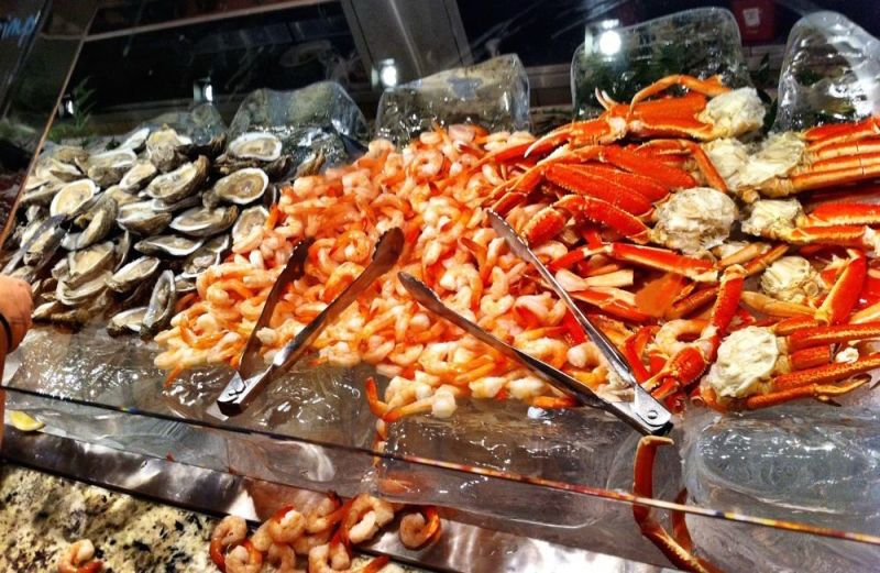 Fine The 10 Best Seafood Buffet In Las Vegas And Guide To Vegas Download Free Architecture Designs Grimeyleaguecom