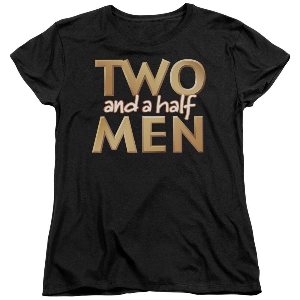 Two and A Half Men/Logo Short Sleeve Women's Tee in