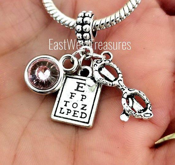 Female Optician Optometrist Eyechart Eye Chart Eyeglasses