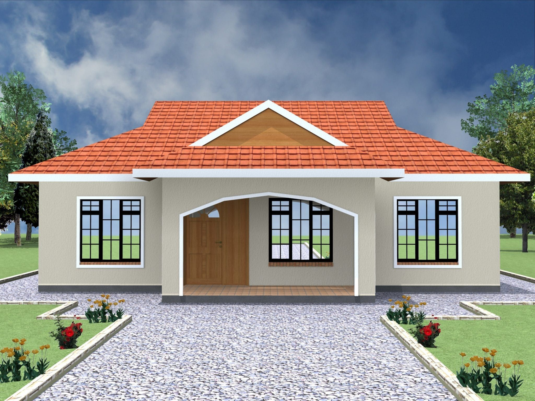 Simple 2 Bedroom House Plans In Kenya Hpd Consult Two Bedroom House Design 2 Bedroom House Plans Bedroom House Plans