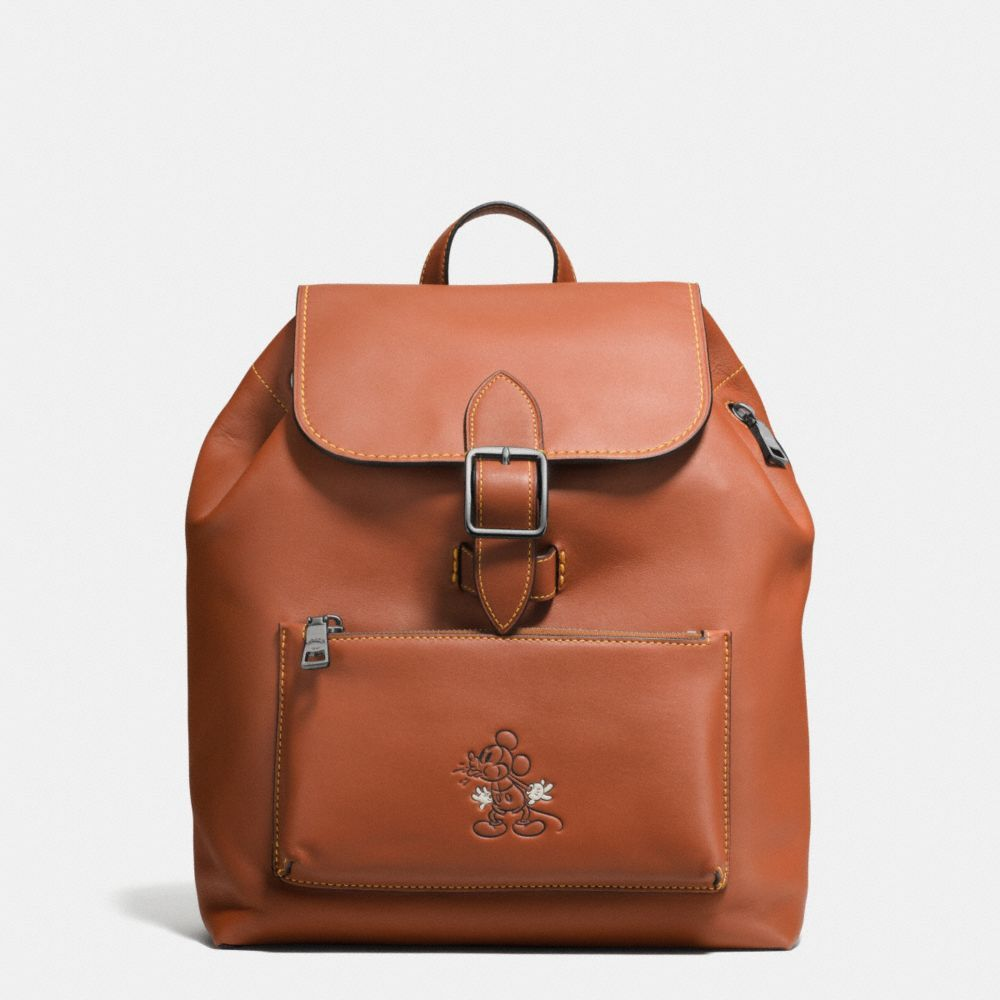 58457e0e83d5 COACH Mickey Rainger Backpack In Glovetanned Leather.  coach  bags  leather   backpacks