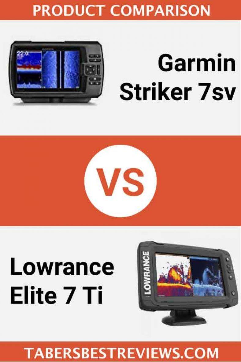 Garmin Striker 7sv VS Lowrance Elite 7 Ti – Head To Head