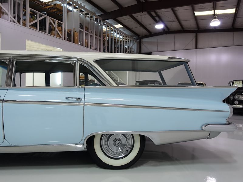 The 1959 Buick Lesabre Estate Station Wagon Featured Here Is