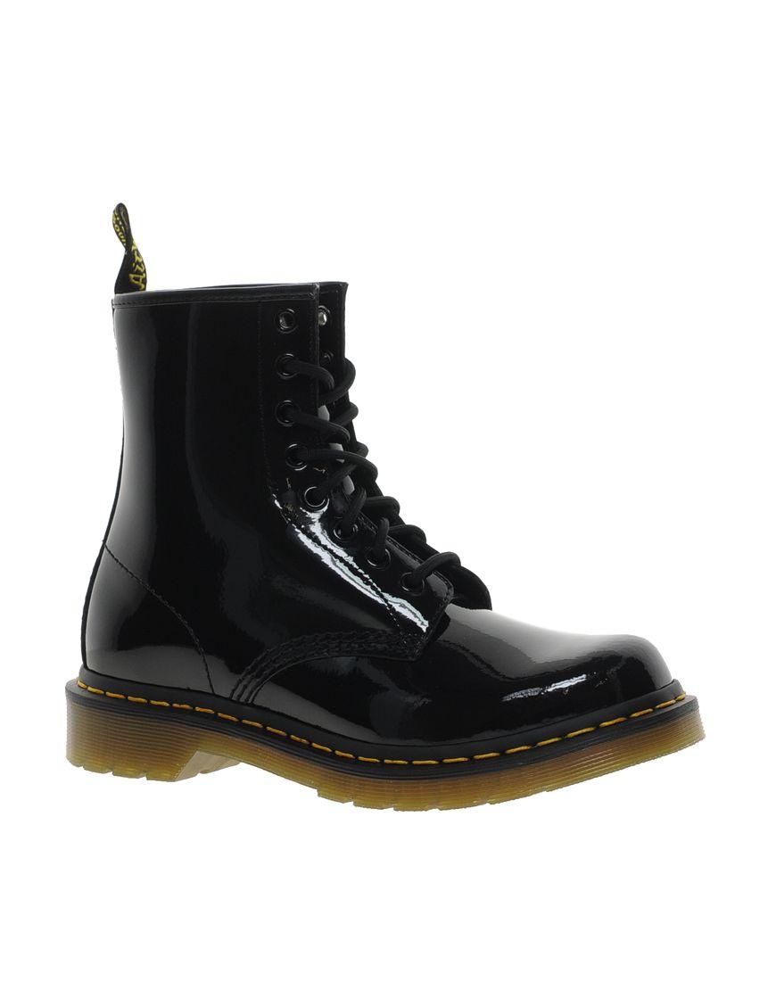 98945f9c508d Dr Martens Modern Classics 1460 Patent 8-Eye Boots | Wardrobe. | Dr ...
