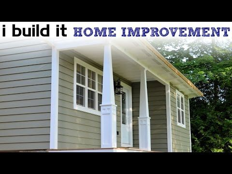 making craftsman style tapered columns - youtube   for the home