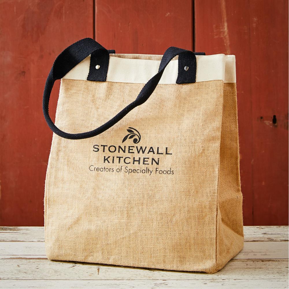 Reuseable Reversible Washable Multi-use Cotton Tote Shopping Bag