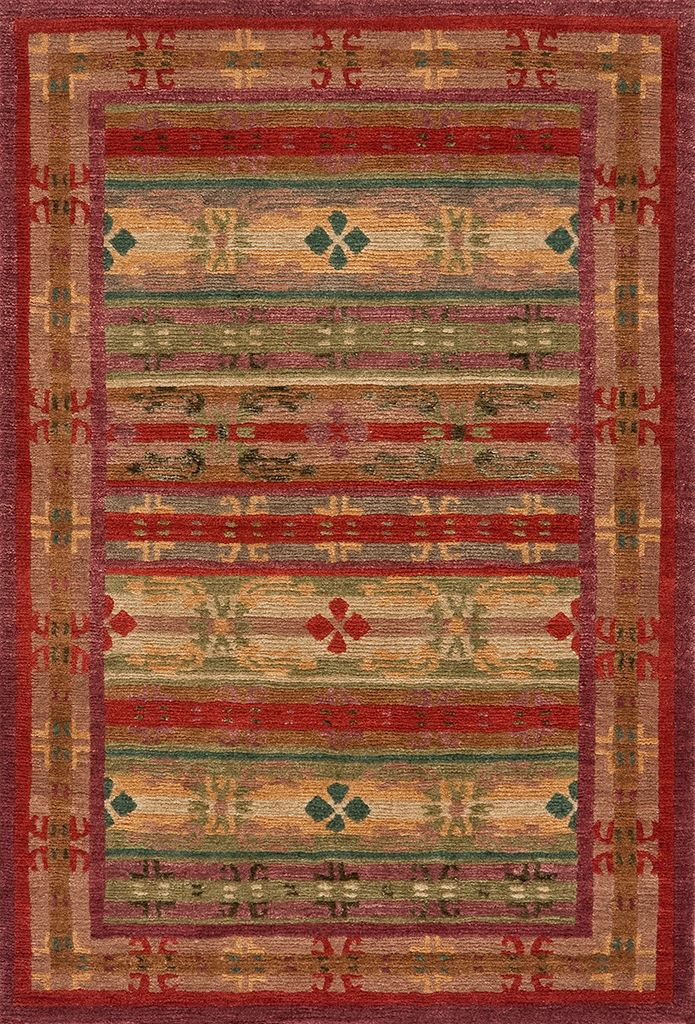 Tibetan Area Rug Trellis Red With Silk This 100 Knot Version Of The Is A Photo Smaller Sparkles Gorgeous