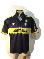 Maglia champion calcio football shirt trikot jersey parma parmalat vintage 1999   eBay