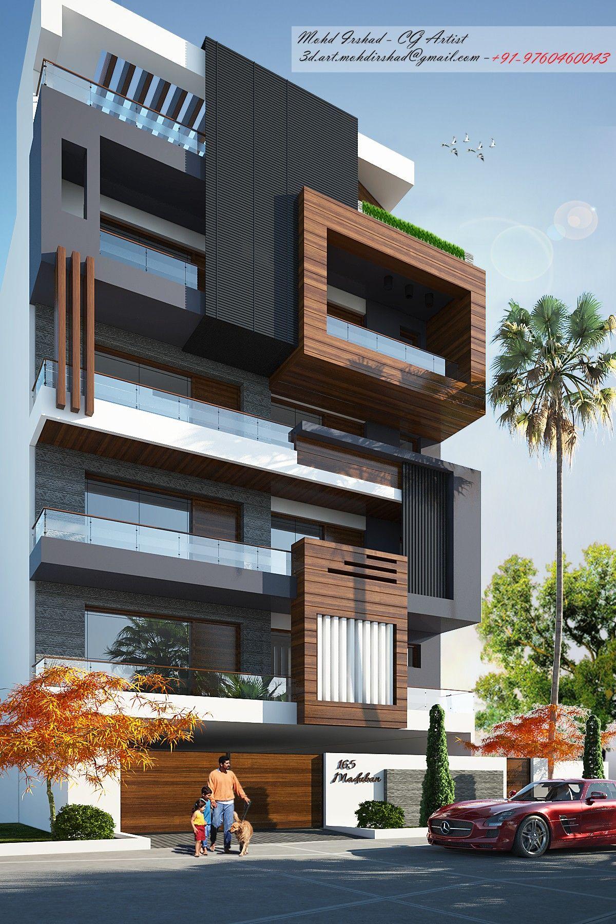 Pin by maria on μονοκατοικιες   Modern minimalist house