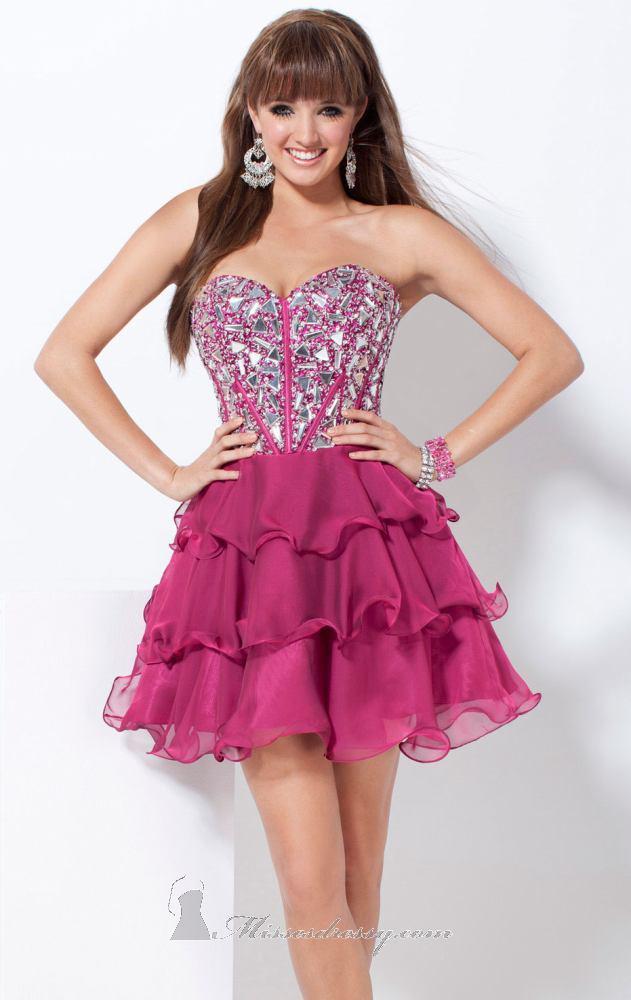 US$146.99 Wholesale A-line Fuchsia Short Prom Dress /Formal Dress ...