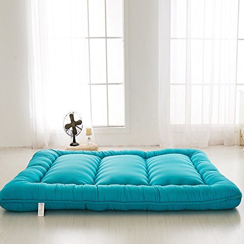 Blue Futon Tatami Mat Japanese Mattress Cheap Futons For Christmas Gift Idea Women Men Mom Dad Full Size Find Out More About
