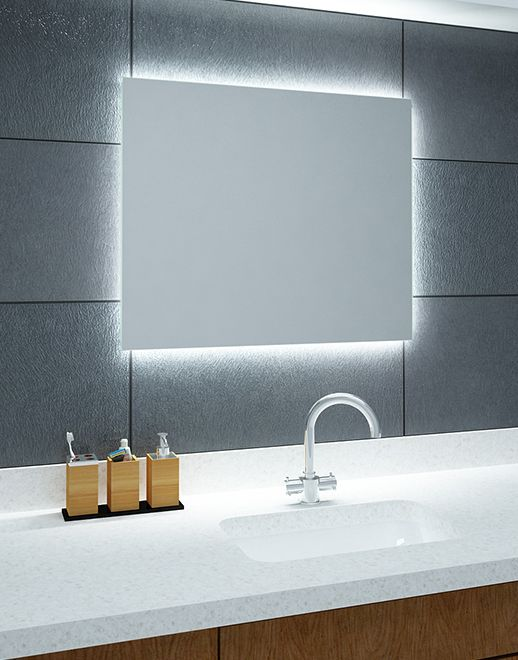 Lustro łazienkowe Shine LED z oświetleniem LED Bath - badezimmerspiegel mit led