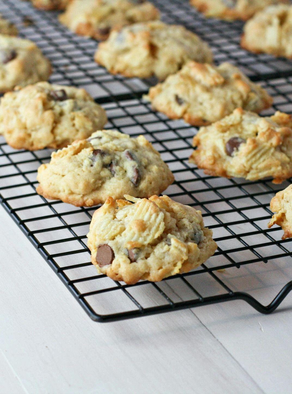 Potato Chip Cookies - FoodBabbles.com                                                                                                                                                                                 More
