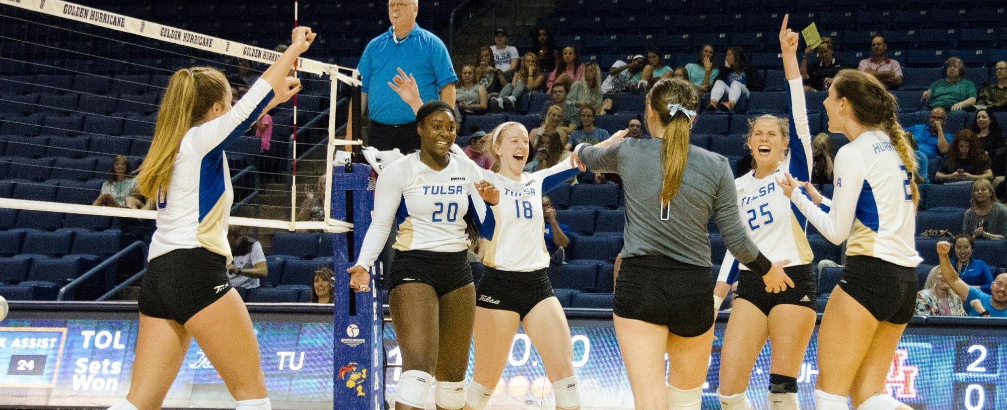 Tulsa Announces 2018 Volleyball Schedule University Of Tulsa Athletics Volleyball News Volleyball Team Athlete