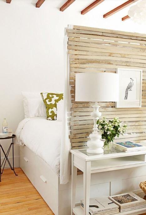 Wohnidee Bett Schlafzimmer Schrank 1 Zimmer Wohnung Kleine Ideen Geliebtes