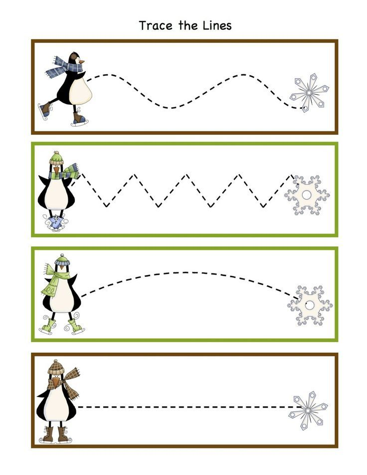 penguin worksheets for preschool – Winter Worksheets Kindergarten