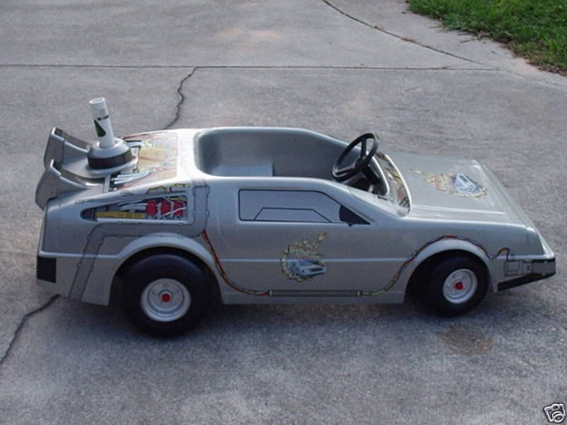Back To The Future Ii Battery Powered Car With Images