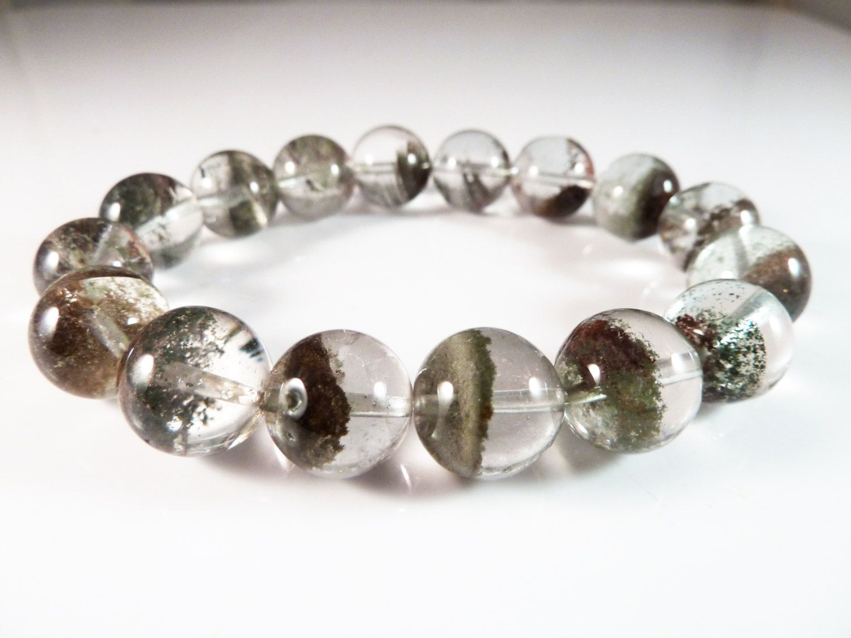 Lodolite Beaded Bracelet