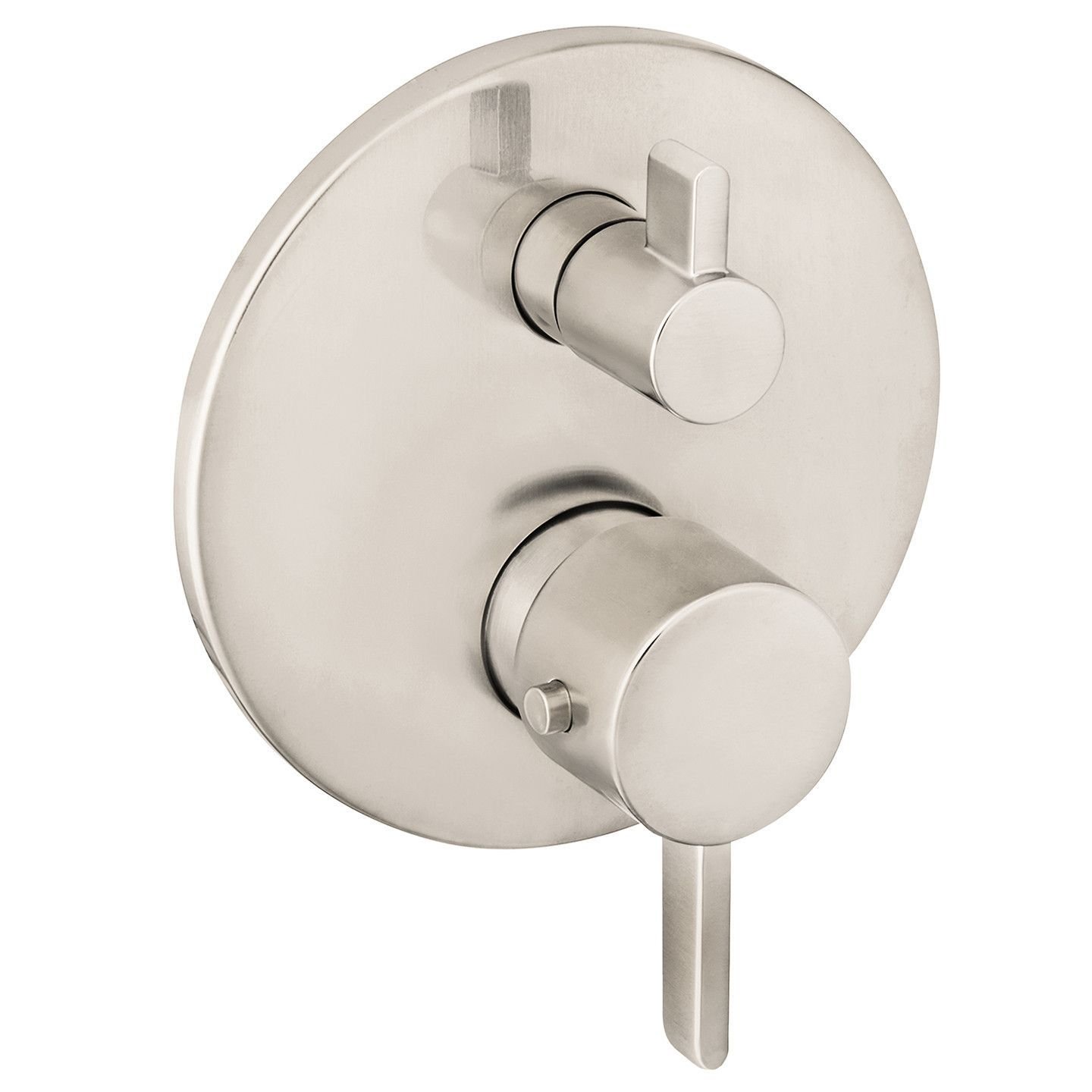 Hansgrohe 04231000 Chrome S Thermostatic Valve Trim with Integrated ...