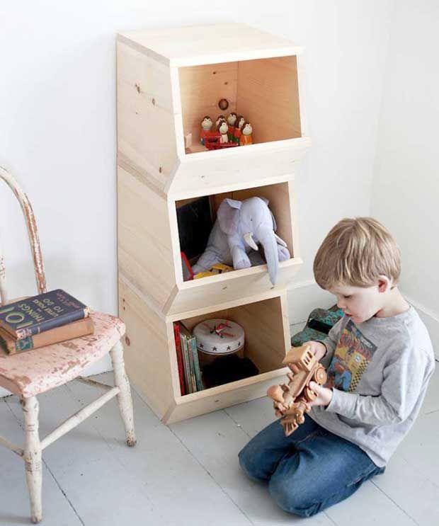 12 projets minimalistes pour la chambre des kids Esprit Cabane