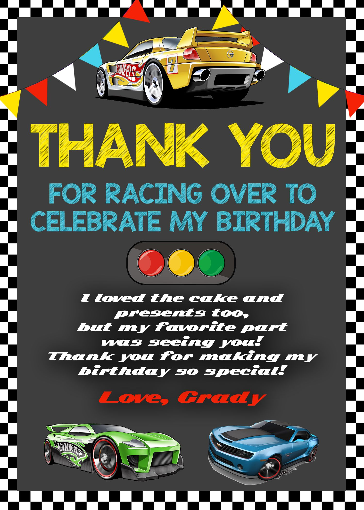 Unusual Hot Wheel Birthday Invitations Images - Invitation Card ...