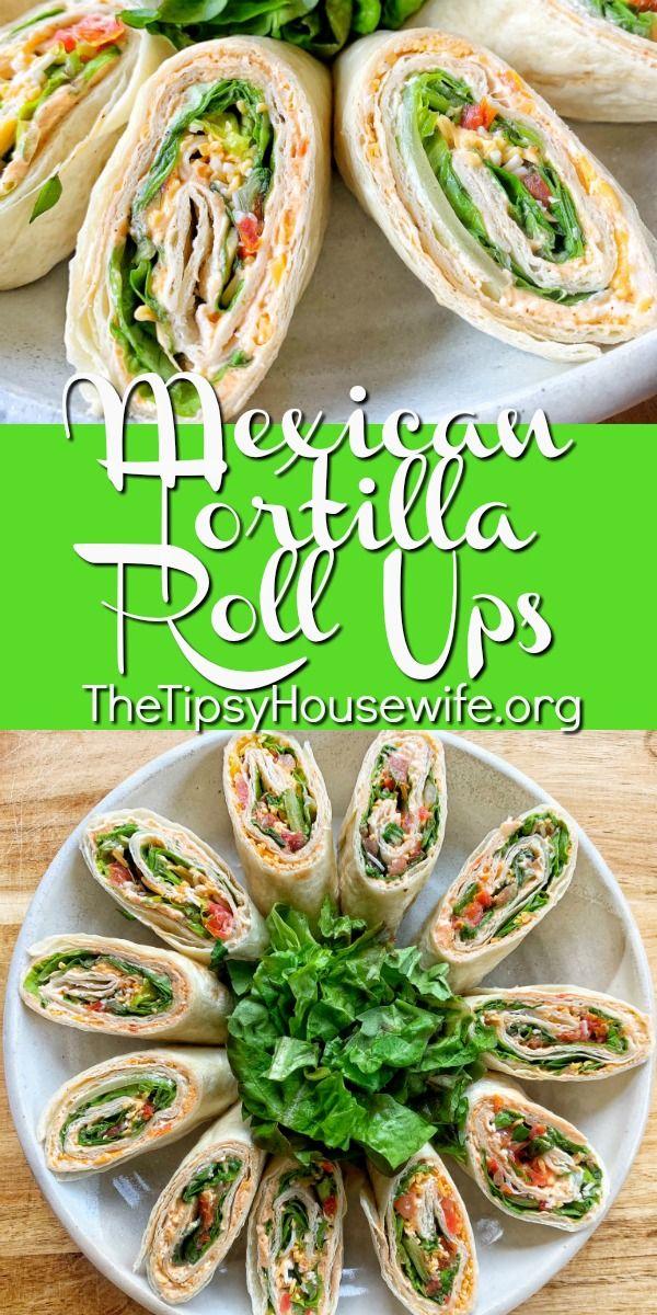 Mexican Tortilla Roll Ups images