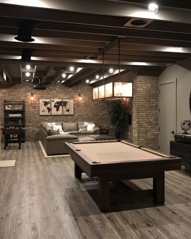 Stylish Home Basement Ceiling Ideas for Different Rooms #mancavebasement