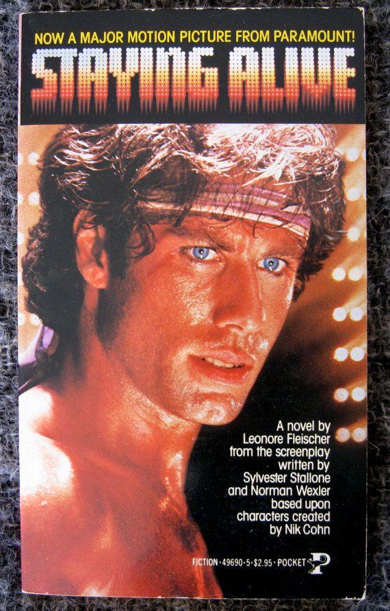 Staying Alive Movie Paperback Travolta Tastic 500 Blondesavage