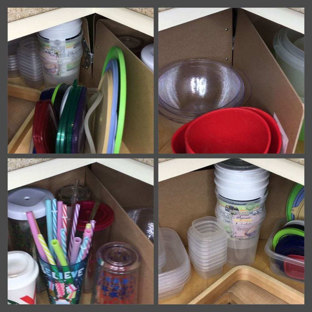How clipboards will totally organize your kitchen cabinets