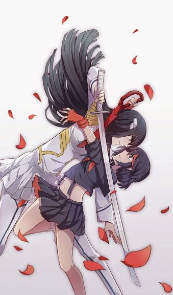 Kill La Kill Satsuki X Ryuko Yuri