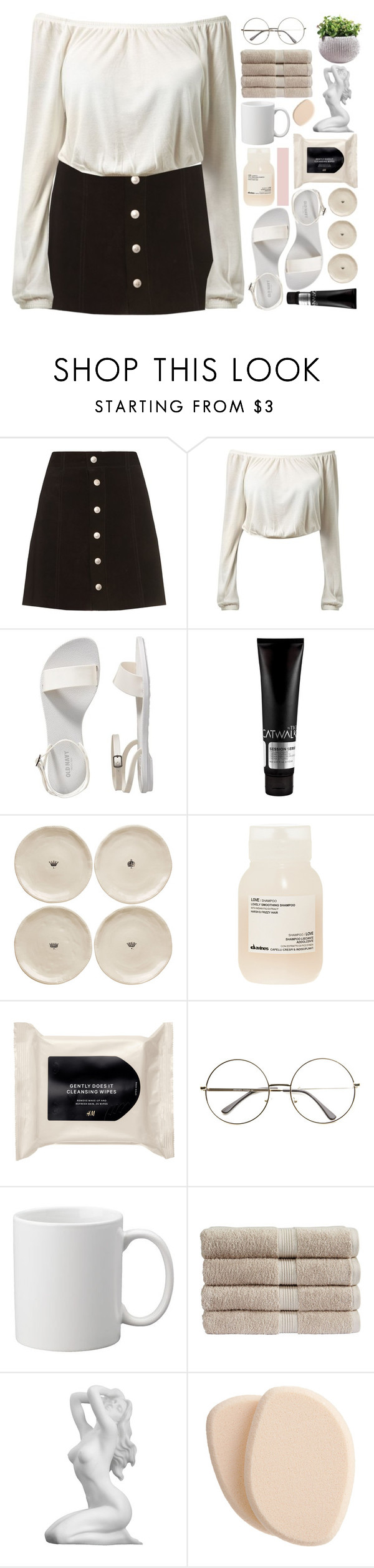 """""""temporary fix"""" by alanalove-123 ❤ liked on Polyvore featuring AG Adriano Goldschmied, Old Navy, TIGI, Magenta, Davines, H&M, Christy, Clé de Peau Beauté and topsetsofadhora"""