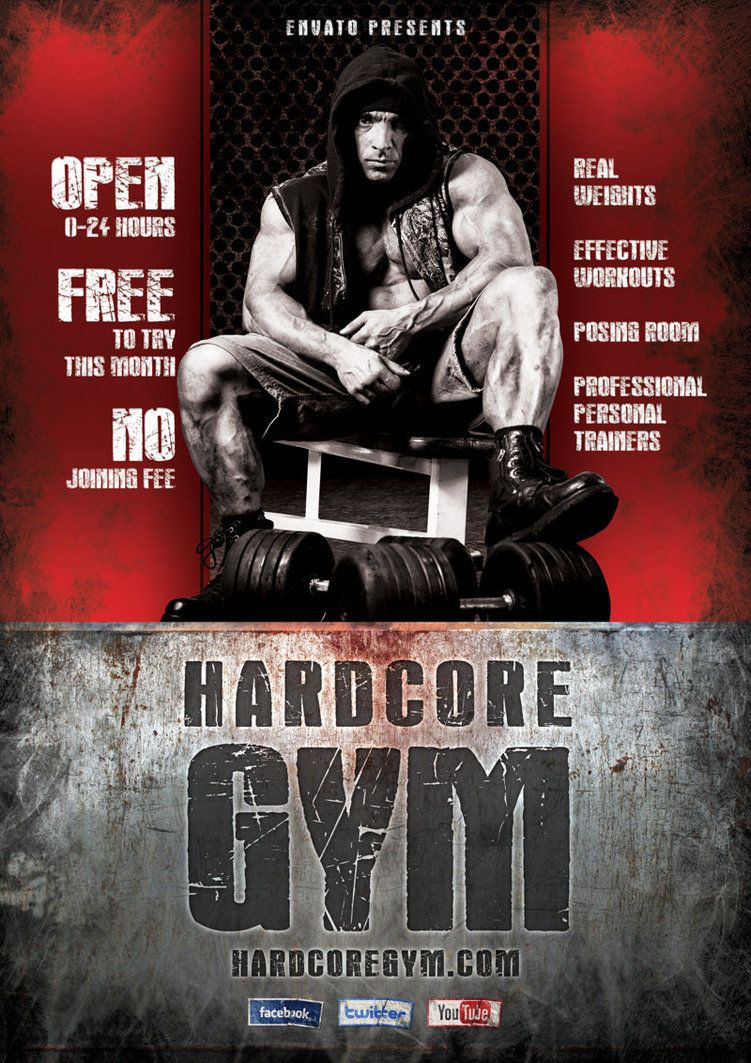 Gym Advertising Flyers  Google Search  Gym