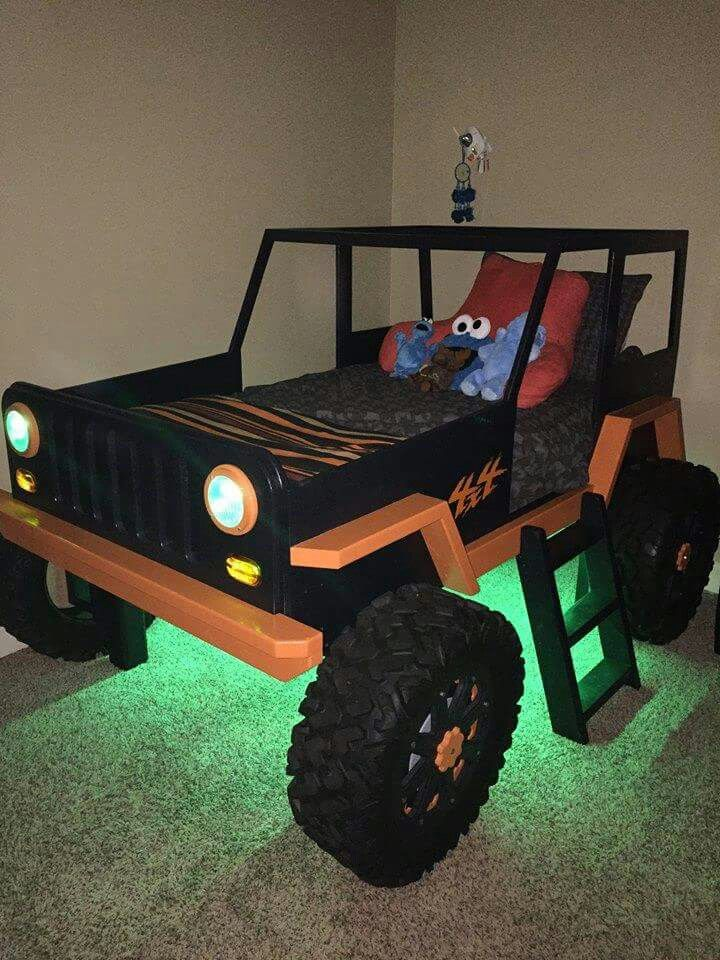 Jeep Bed Love This Kids Bedroom Designs Kid Beds
