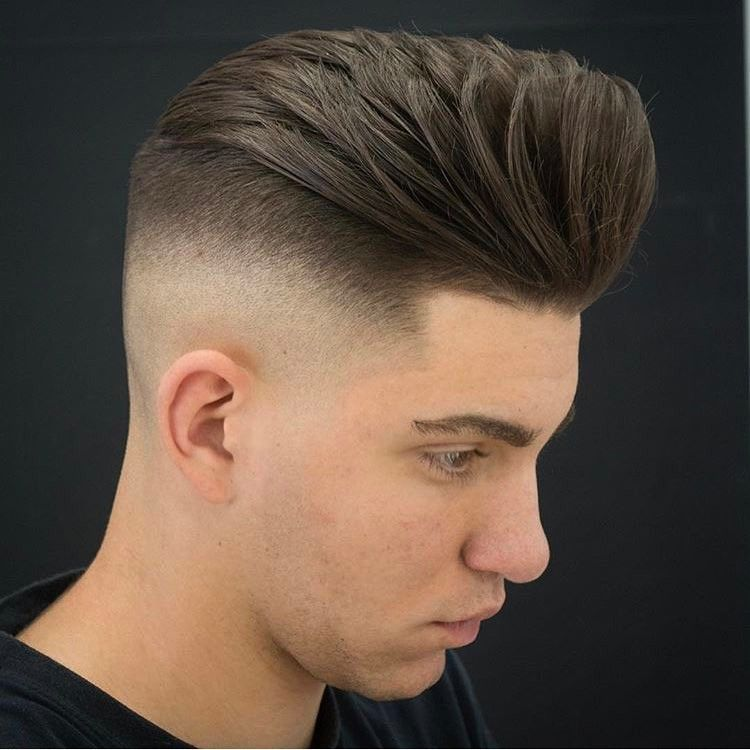 Top 40 Pompadour Hairstyles For 2018 Hairdressing Pinterest
